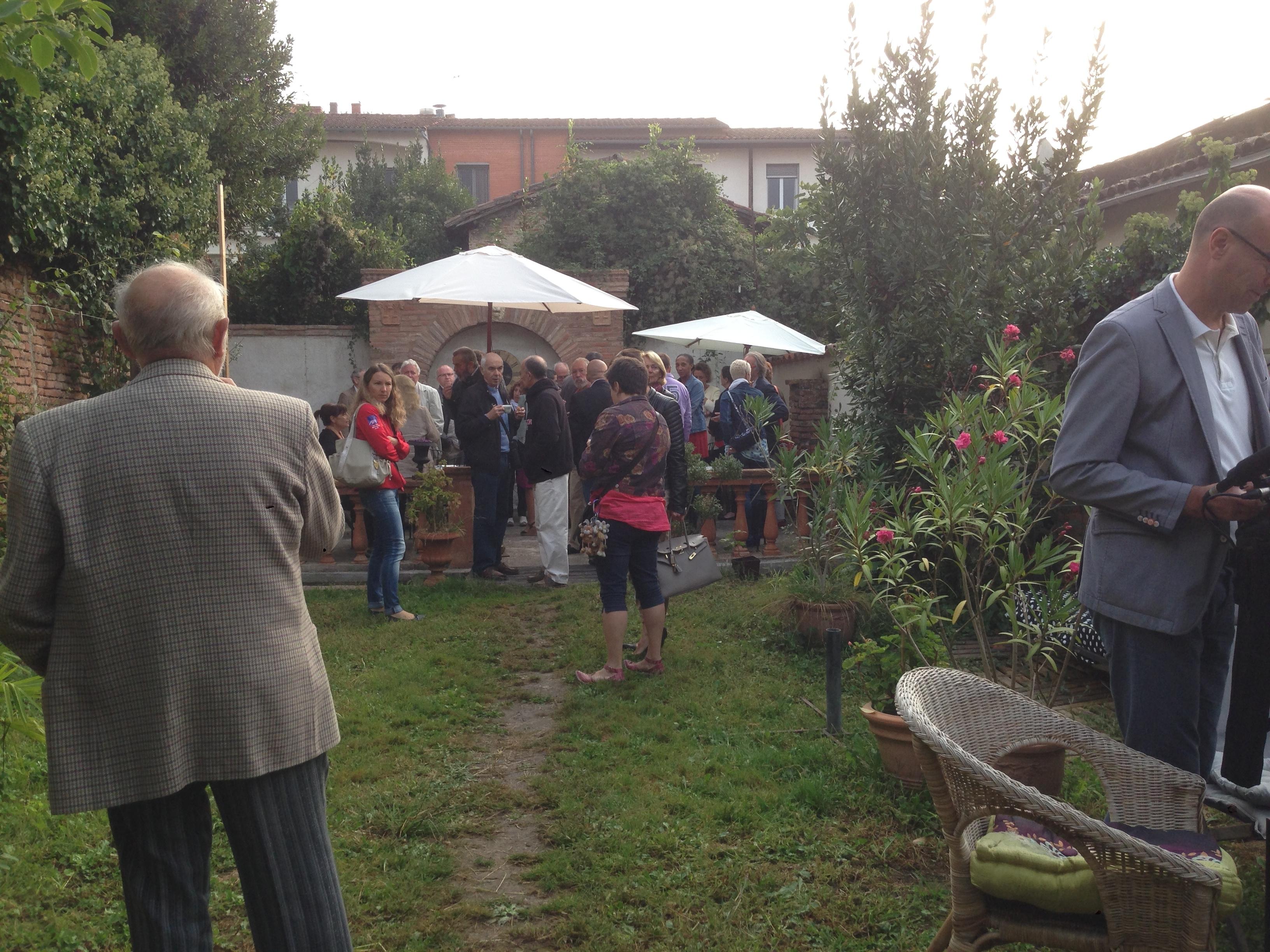 Café des ambassadeurs Albigeois 2014 à l'académie des miniatures