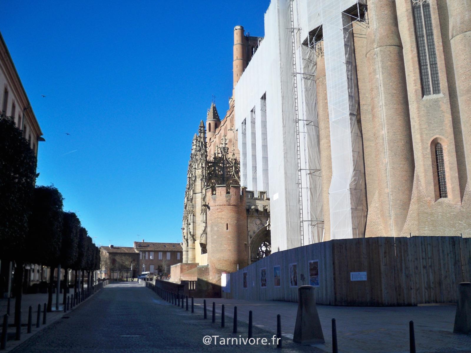 Réfection place Sainte Cécile